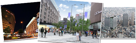 都市インフラ整備が着々と進行する大注目エリア、難波の今と未来