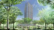 「北青山三丁目地区 まちづくりプロジェクト民活事業」建物外観イメージ