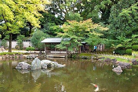 明治期を代表する名庭園「神池庭園」