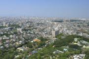 「東山スカイタワー」からの景色