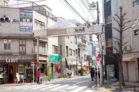板橋宿不動通り商店街