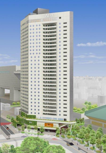 アパホテル&リゾート〈両国駅タワー〉 出典:APA GROUPニュースリリース