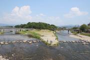 鴨川公園(出町橋付近)