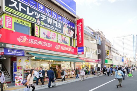 武蔵小杉駅前通り商店街
