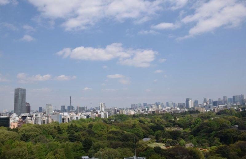 オフィス高層階からの眺望イメージ