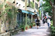 プラチナ通り(外苑西通り)