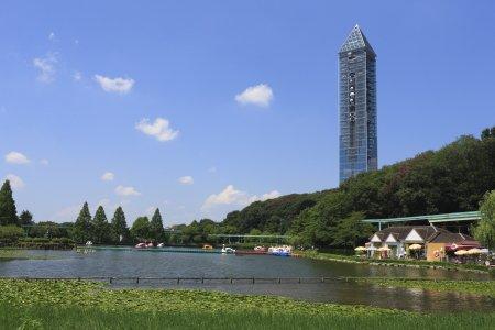 東山公園と東山スカイタワー