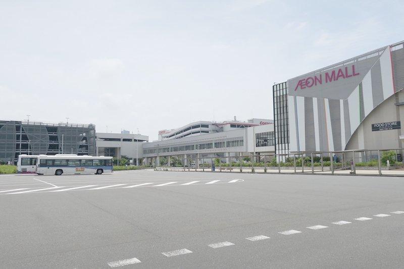 「イオンモール幕張新都心」のバスターミナルそばに新駅が誕生予定