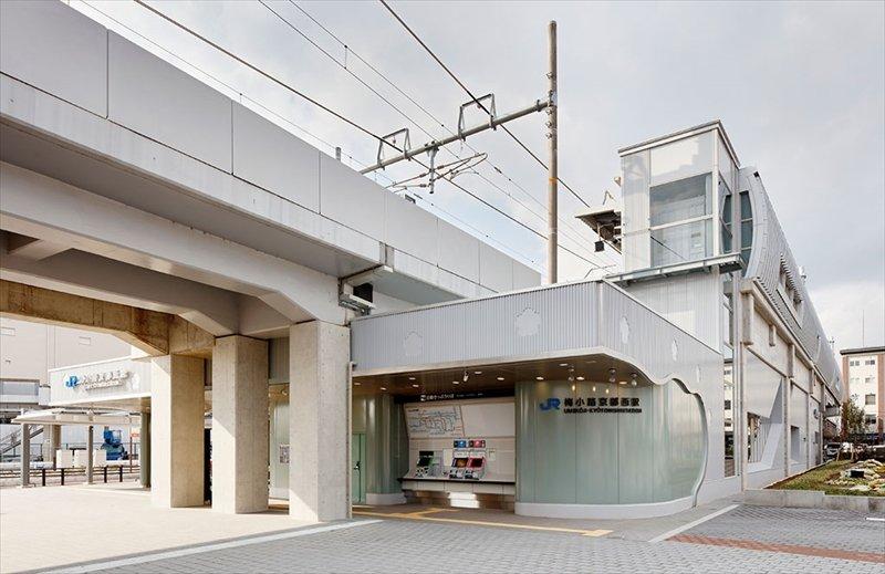 JR嵯峨野線「梅小路京都西」駅
