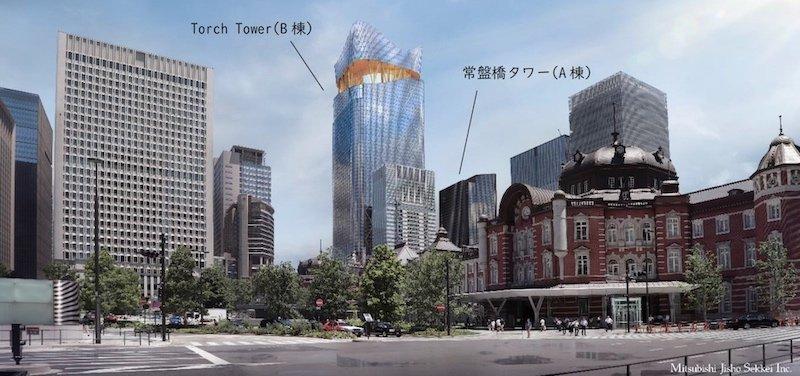 東京駅前常盤橋プロジェクト完成イメージ