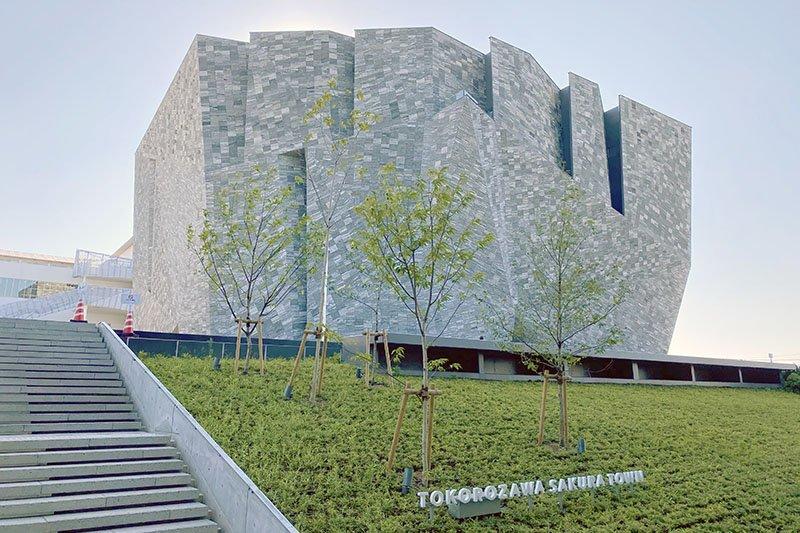 「ところざわサクラタウン」内にある「角川武蔵野ミュージアム」